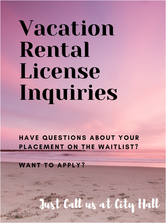 Vacation Rental Inquiries