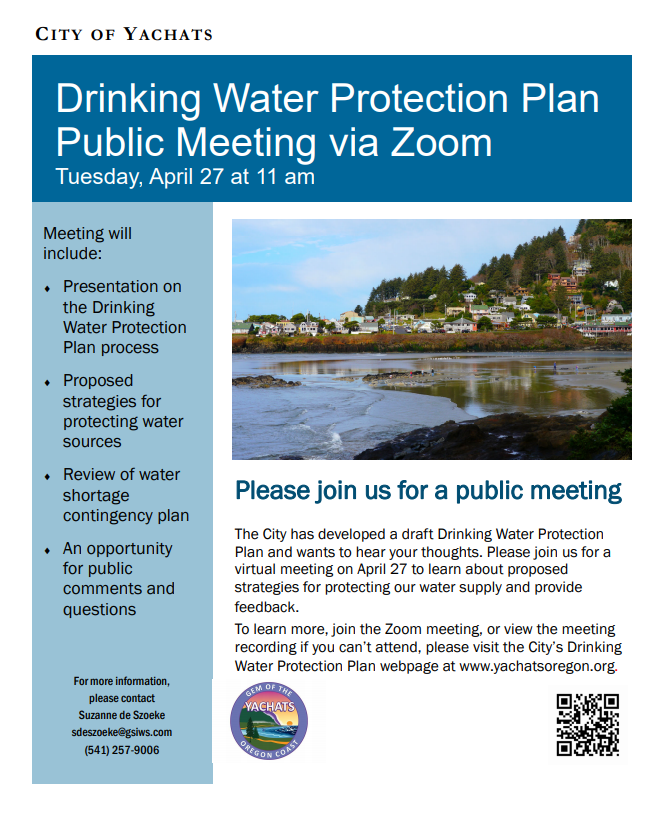 2021-04 Drinking Water Protection Plan April Meeting
